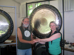 Gong Master Training with Don Conreaux at Gaunts House