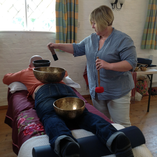 Crystal Bowl and Himalayan Bowl Practitioner Training - moments