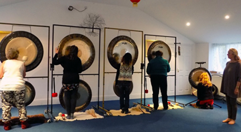 Gong Practitioner Training - moments